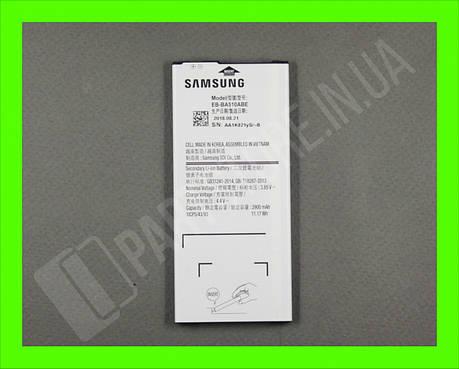 Аккумулятор Samsung A510 A5 2016 (EB-BA510ABE) GH43-04563B сервисный оригинал, фото 2
