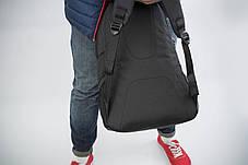 Рюкзак мужской городской спортивный черный, мужской рюкзак городской для ноутбука, рюкзак роллтоп BAGLND 1X, фото 3