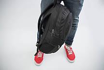 Рюкзак мужской городской спортивный черный, мужской рюкзак городской для ноутбука, рюкзак роллтоп BAGLND 1X, фото 2