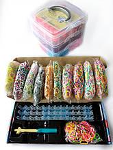10200 резиночек для плетения в профессиональном наборе с чемоданчиком