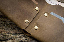Мужской кожаный кошелек ТатуНаКоже, криминальное чтиво, фото 3