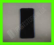 Дисплей Huawei P Smart plus Blue (02352BUH) сервисный оригинал в сборе с рамкой, акб и датчиками