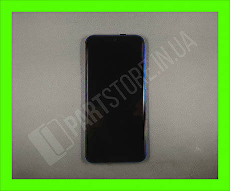 Дисплей Huawei P Smart plus Blue (02352BUH) сервисный оригинал в сборе с рамкой, акб и датчиками, фото 2
