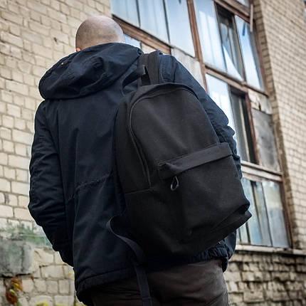 Рюкзак мужской городской спортивный черный, мужской рюкзак городской для ноутбука, рюкзак роллтоп StuffBox, фото 2