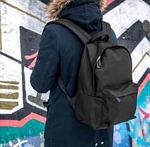 Рюкзак мужской городской спортивный черный, мужской рюкзак городской для ноутбука, рюкзак роллтоп StuffBox, фото 3