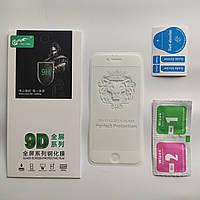 Защитное стекло для IPhone 6, 6s 9D Full Glue Белое