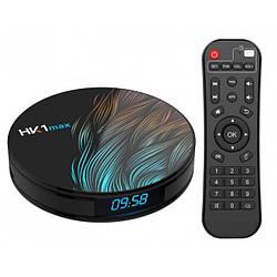 Медиаплеер приставка Android TV Box HK1 MAX 4GB/64GB (13950)