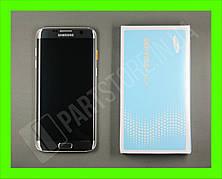 Дисплей Samsung g935 silver s7 edge (GH97-18533B) сервисный оригинал в сборе с рамкой