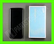 Дисплей Samsung g950 black s8 (GH97-20457A) сервисный оригинал в сборе с рамкой