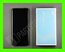 Дисплей Samsung g965 Gray s9+ (GH97-21691C) сервисный оригинал в сборе с рамкой
