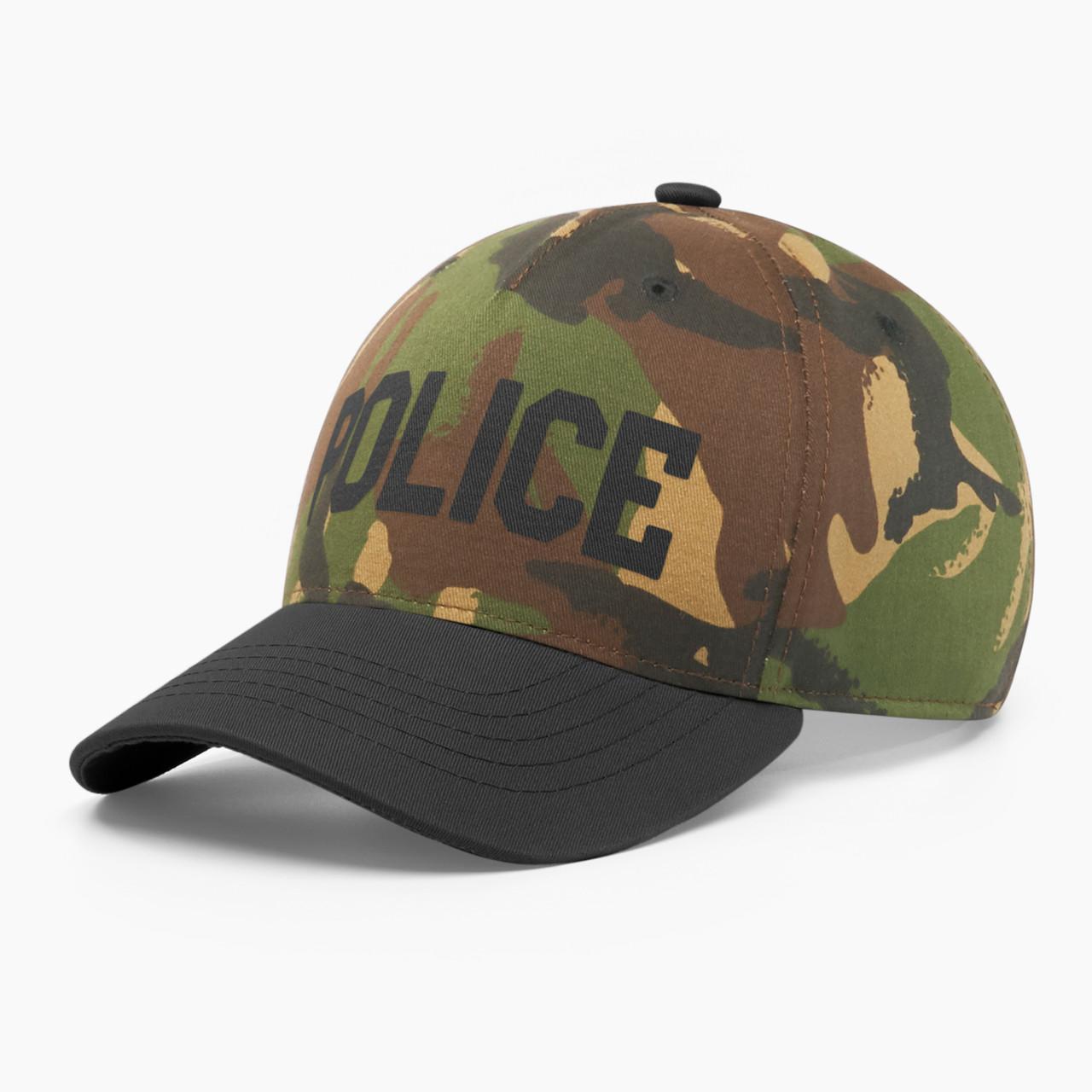 Кепка бейсболка мужская INAL police M / 55-56 RU Хаки 255055