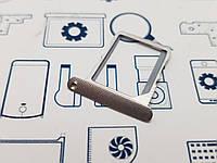 Держатель сим Lenovo S960 серебро Сервисный оригинал с разборки