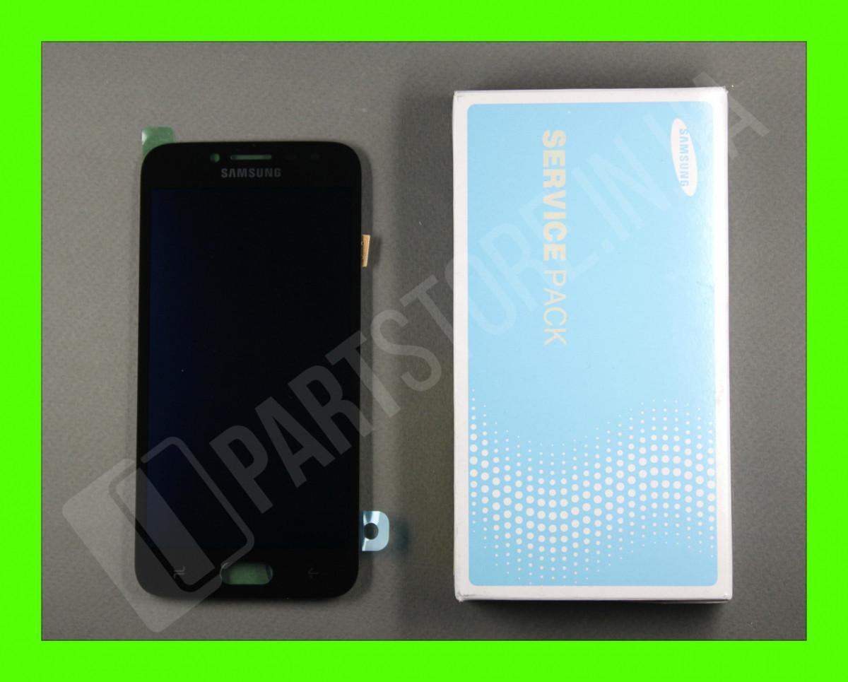Дисплей Samsung j250 black j2 2018 (GH97-21339A) сервисный оригинал