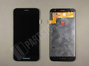 Дисплей Samsung j260 black j2 Core 2018 (GH97-22242A) сервисный оригинал, фото 2
