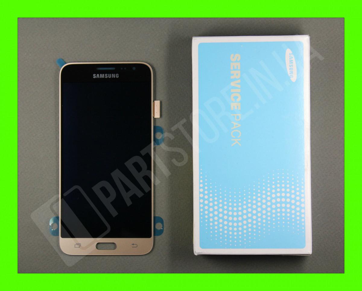 Дисплей Samsung j320 Gold j3 2016 (GH97-18414B) сервисный оригинал