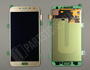 Дисплей Samsung j400 Gold j4 2018 (GH97-21915B) сервисный оригинал, фото 2