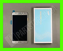 Дисплей Samsung j701 Silver j7 neo 2018 (GH97-20904C) сервисный оригинал