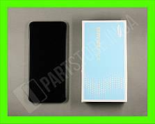 Дисплей Samsung M205 black m20 2019 (GH82-18682A) сервисный оригинал в сборе с рамкой