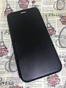 Чехол-книжка Xiaomi Redmi 8A флип бампер накладка цветной черный на магните, фото 2