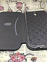 Чехол-книжка Xiaomi Redmi 8A флип бампер накладка цветной черный на магните, фото 5