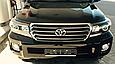 Решетка радиатора Toyota LC 200 2007-2015 в стиле Brownstone, фото 2