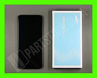 Дисплей Samsung A205 Black А20 2019 (GH82-19571A) сервисный оригинал в сборе с рамкой