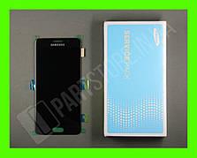 Дисплей Samsung а310 black а3 2016 (GH97-18249B) сервисный оригинал