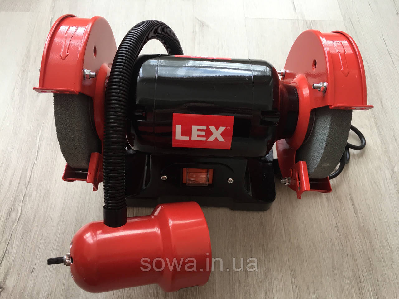 Точильный станок Lex LXBG14 | с подсветкой | 150мм, 1400Вт - фото 2