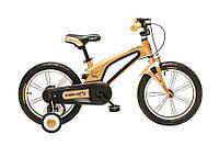 """Детский велосипед Oskar 16"""" золотой /Оскар"""