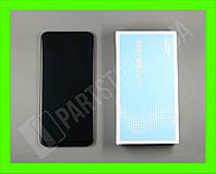Дисплей Samsung A505 Black А50 2019 (GH82-19204A) сервисный оригинал в сборе с рамкой