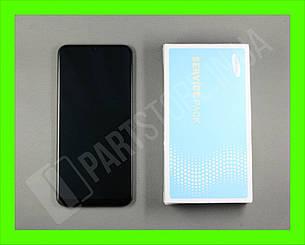 Дисплей Samsung A505 Black А50 2019 (GH82-19204A) сервисный оригинал в сборе с рамкой, фото 2