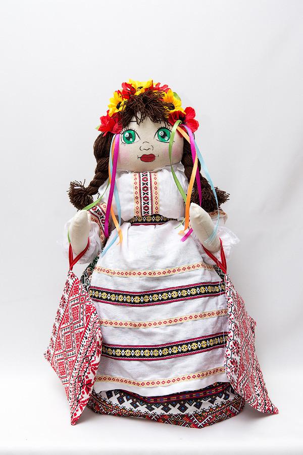 Лялька на самовар з прихватками
