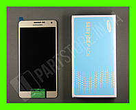 Дисплей Samsung A700 Gold A7 2015 (GH97-16922F) сервисный оригинал