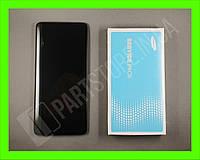 Дисплей Samsung A715 Black А71 2020 (GH82-22152A) сервисный оригинал в сборе с рамкой