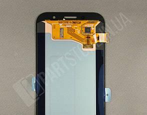 Дисплей Samsung а720 gold а7 2017 (GH97-19723B) сервисный оригинал, фото 2