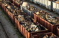 Услуги погрузки-выгрузки металлолома из ЖД вагона