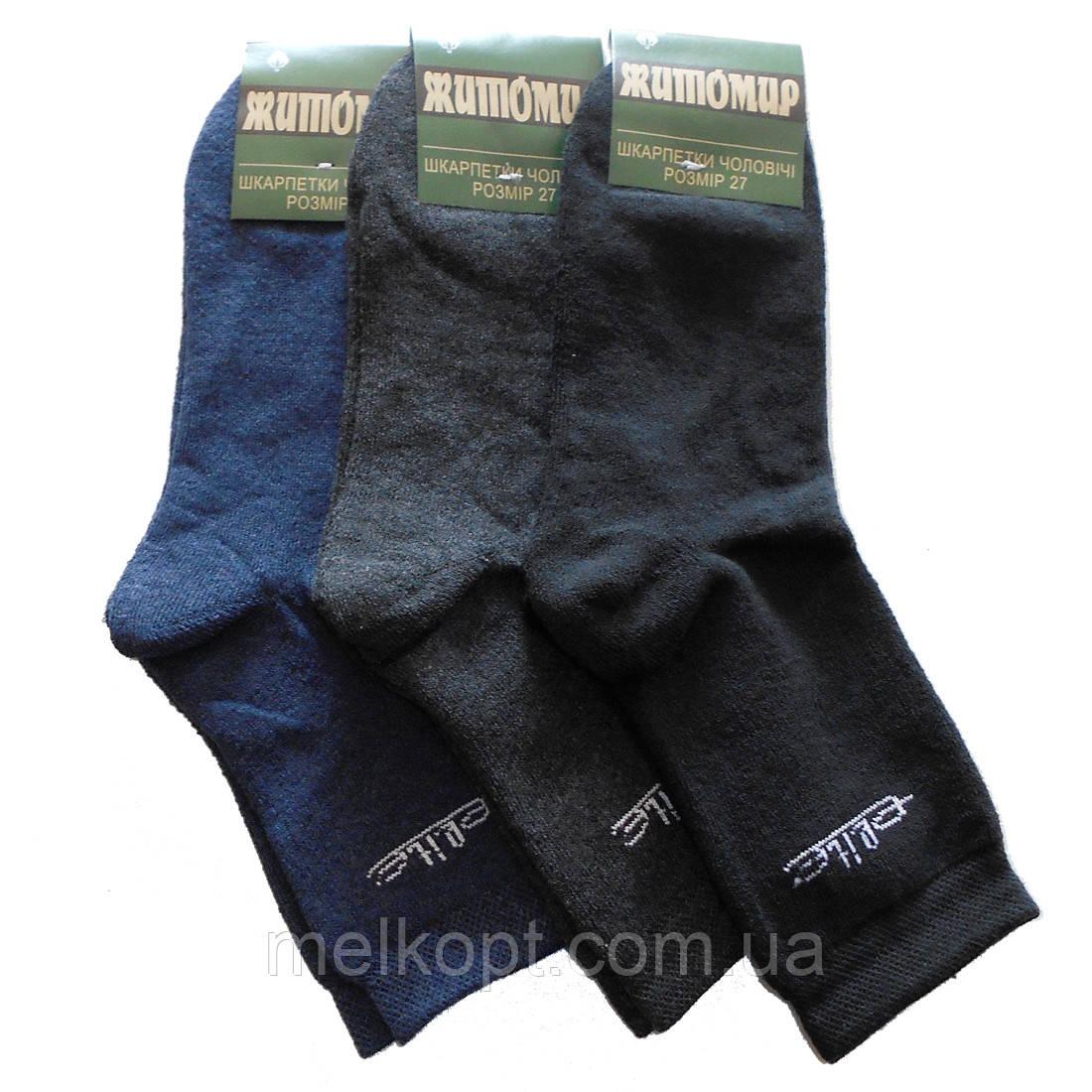Мужские махровые носки Житомир - 11,50 грн./пара (Elite, ассорти)