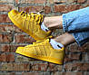 Женские кроссовки Adidas Superstar 80s City Pack Shanghai Yellow Адидас Суперстар Шанхай желтые, фото 4