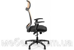 Кресло для работы дома Barsky BS-04 Style Brown, сеточное кресло, коричневый, фото 2