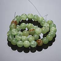 Бусины натуральный камень на нитке Оникс 12мм купить оптом в интернет магазине