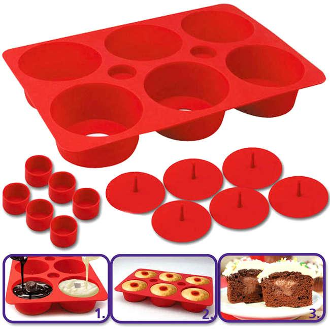 Форма для выпечки кексов Cupcake Secret - антипригарная форма для выпечки