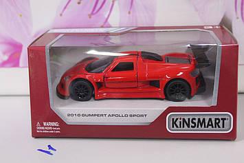 Машинка Kinsmart 2010 Gumpert apollo sport красная