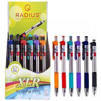 """От 24 шт. Ручка """"XLR"""" RADIUS корпус 6 цветов, 24 штук, синяя 778163 купить оптом в интернет магазине От 24 шт."""