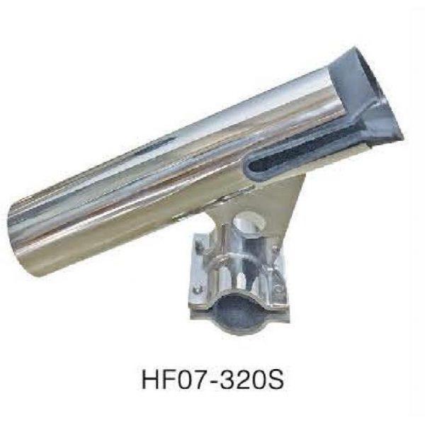 """Тримач вудки, спінінги нержавійка 1"""", 1"""" HORIZONTAL HF07-320S"""