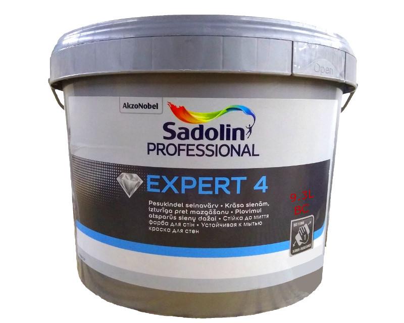 Акрилатна фарба SADOLIN EXPERT 4 інтер'єрна транспарентна (база ВС) 9,3 л