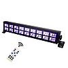Ультрафиолетовая led панель 18х3 Вт с пультом ДУ UF DMX512, фото 3