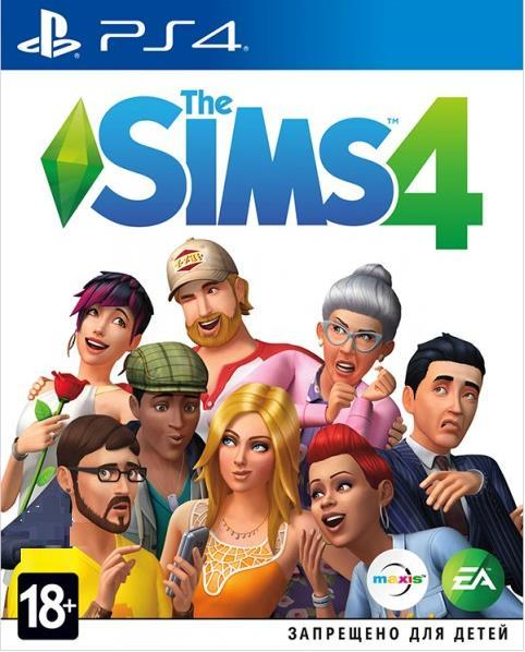 Sims 4 [Blu-Ray диск] (PlayStation)