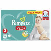 Подгузники-трусики Pampers Pants 3 MEGA PACK ( 120 шт /6-11 кг)