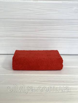 Полотенце для гостиниц красное 50х90, фото 2