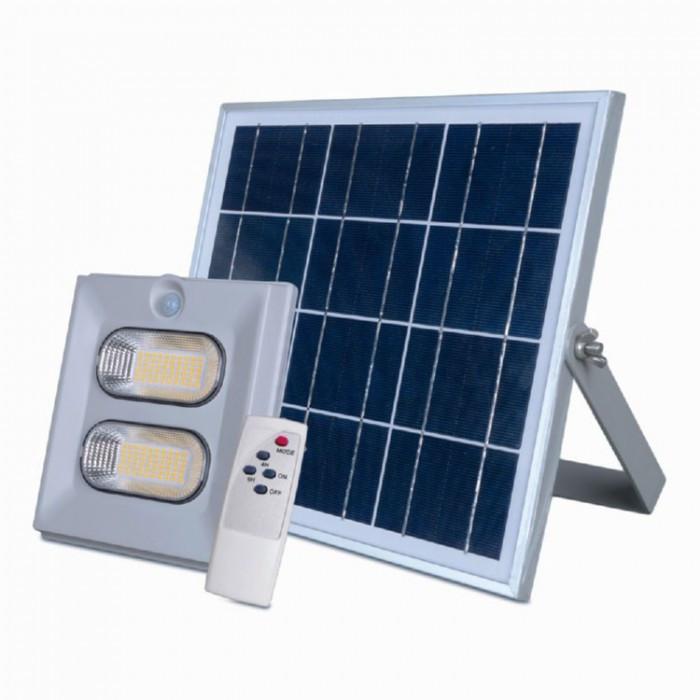 Прожектор на солнечной батарее 100W (с датчиком движения)